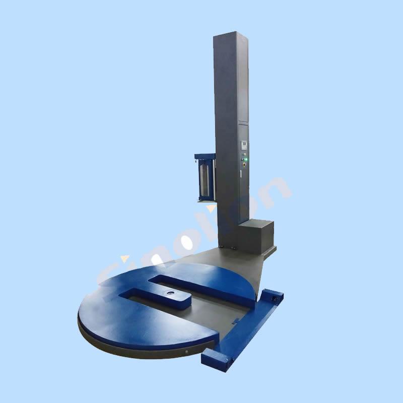 M型叉车槽式缠绕包装机