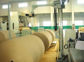年产十五万吨瓦楞原纸输送打包系统