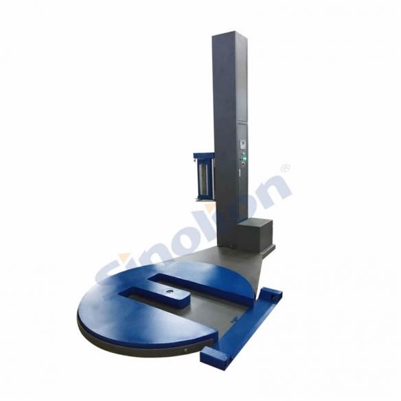 M型叉车槽式托盘缠绕包装机的介绍