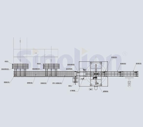 板材建材行业包装流水线系统
