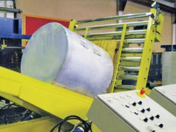 纸卷竖身机