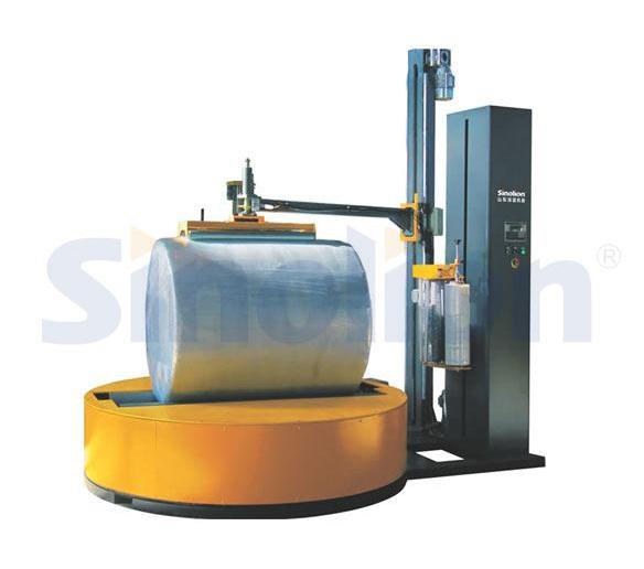 Y2000F-CS圆筒式自动压顶型缠绕包装机